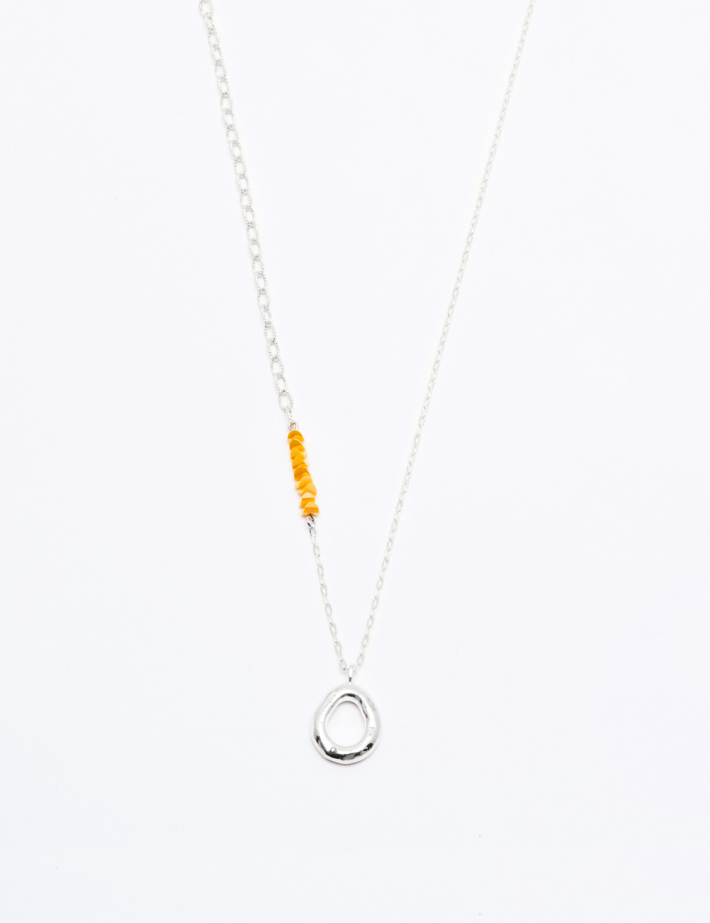 [Silver925] Yellow island Necklace