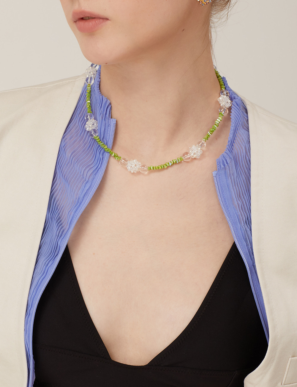Greeny bloom Necklace