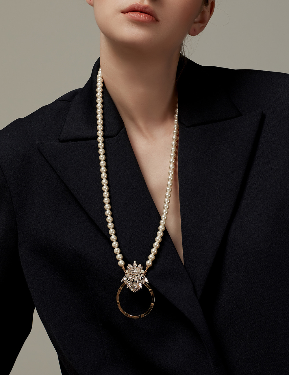 [Showpiece] Harp ring Necklace