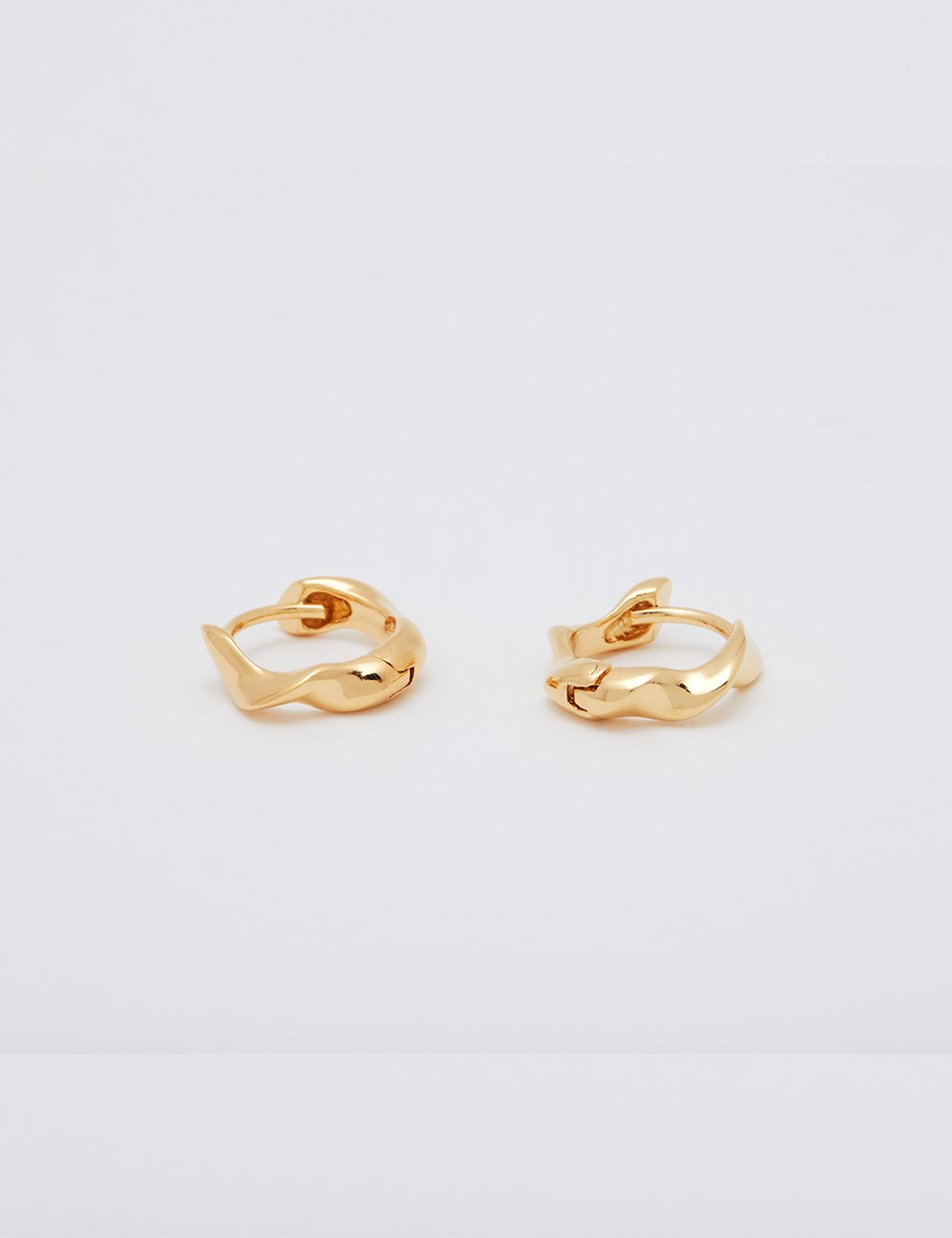 [Silver925]Water Earring (Gold)