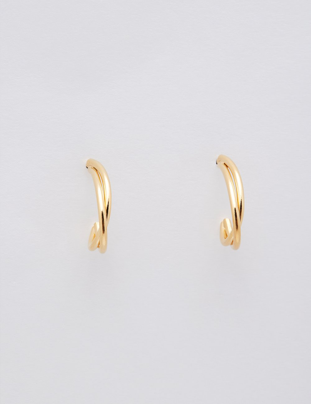 Comma Earring (Gold)