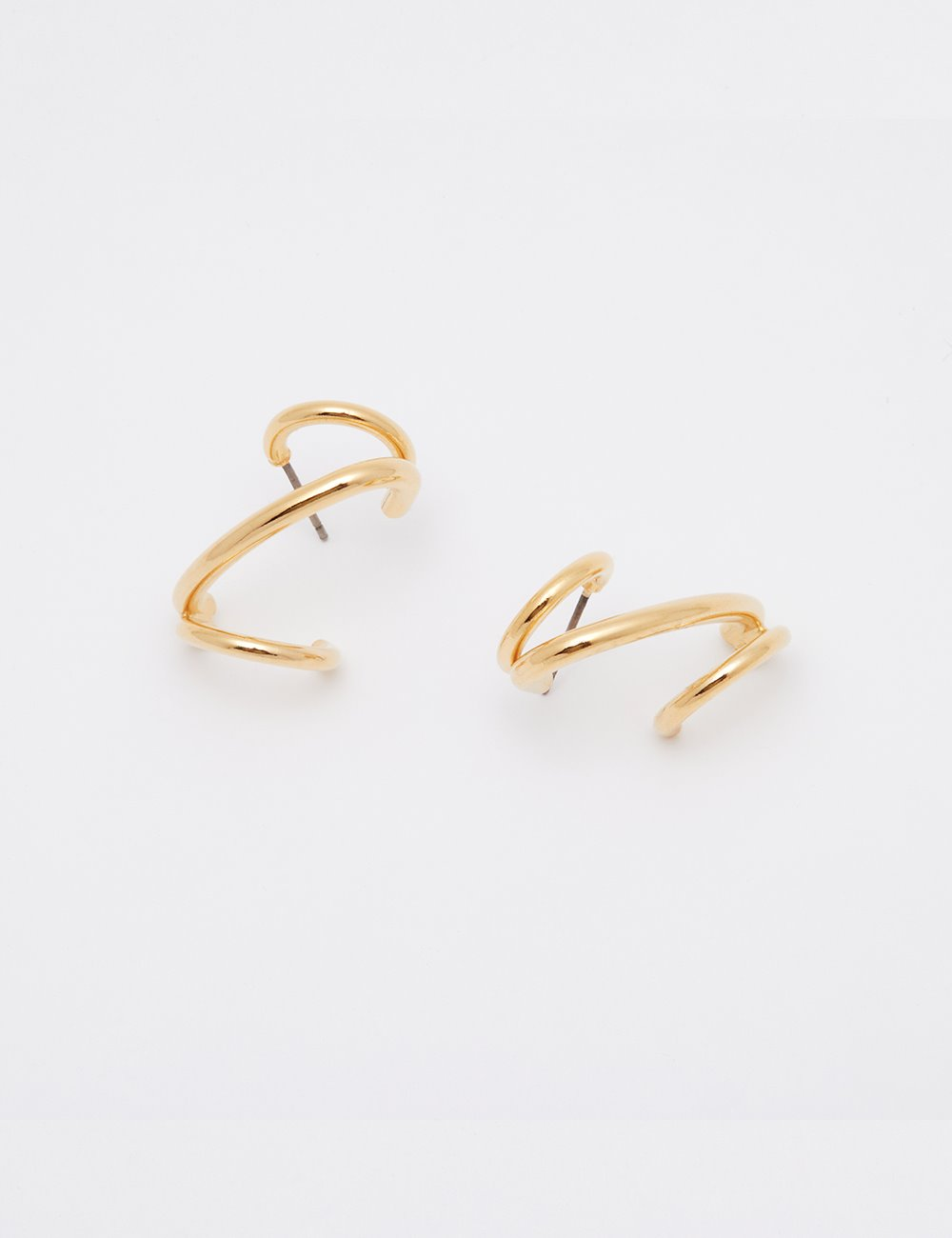 Wave cuff Earring (Gold)